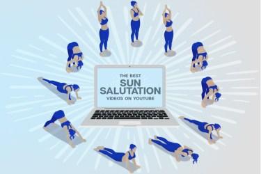 Sun Salutation Videos on Youtube