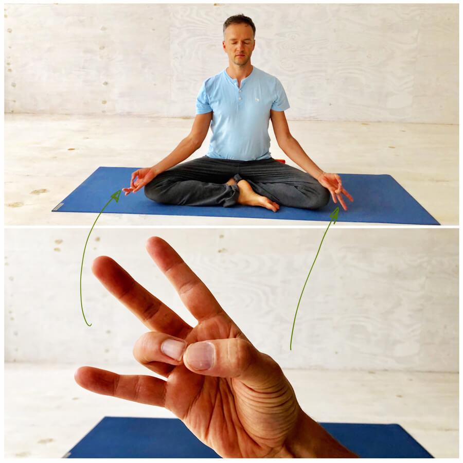 Yoga Stress - Yoga Exercises - Meditation Mudra
