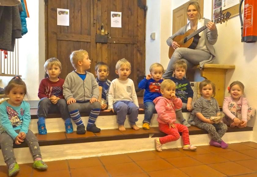 Krabbelstube Wagnermühle Kinderyoga 25.02.2015 - 09