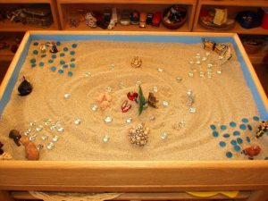 therapy sand tray