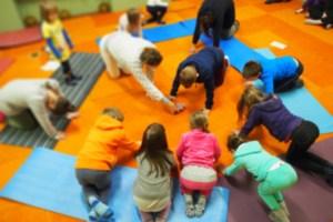 le carte di yoga con i bambini