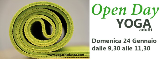 open day yoga che danza