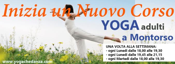 corsi yoga montorso nuovo ciclo