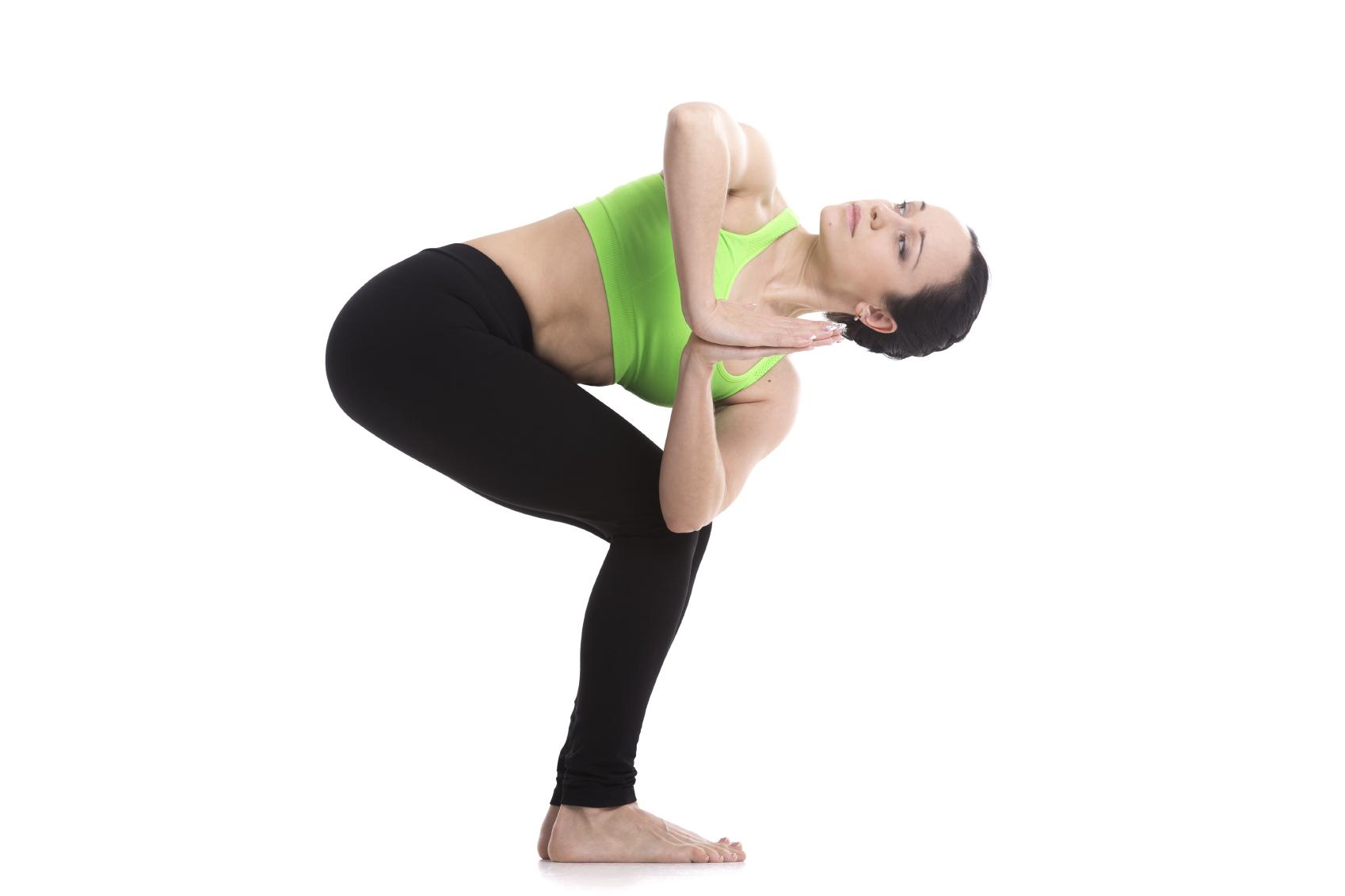 Yoga Pose Revolved Chair Pose  YogaClassPlancom