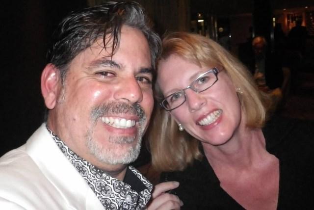 Huck and Dana in 2012.