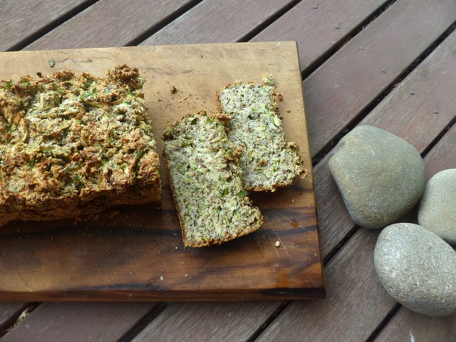 Gluten and Dairy Free Green Bread