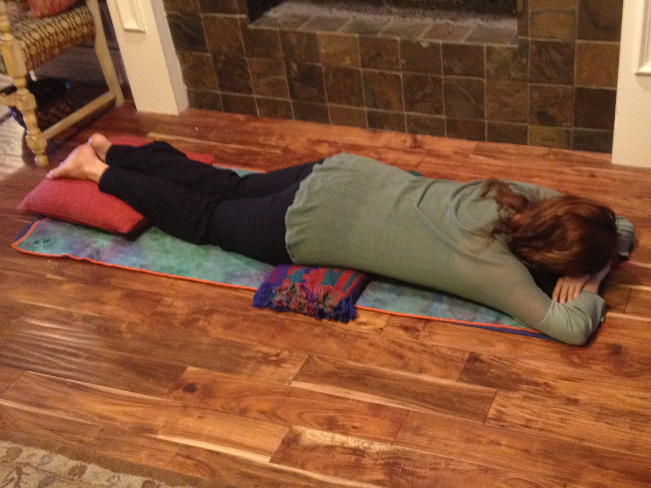 Restorative Pose Of The Month  Makarasana Crocodile