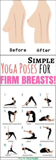 avoir de beaux seins grâce au yoga