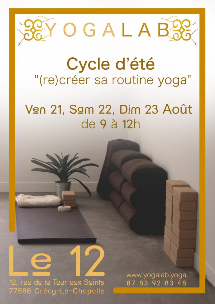 Yoga à Crécy-la-Chapelle YogaLab