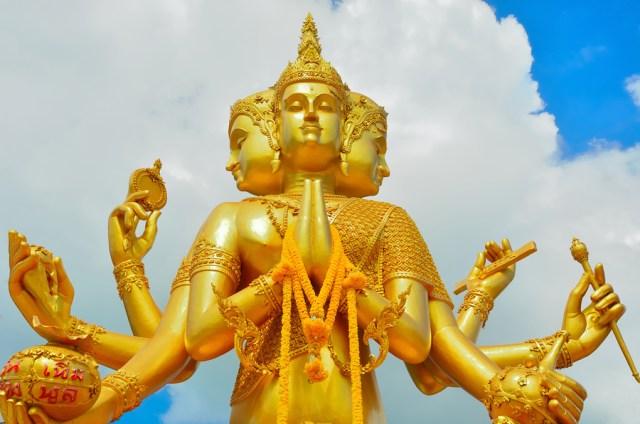 Lord Brahma, the Hindu God of Creation - yogalife