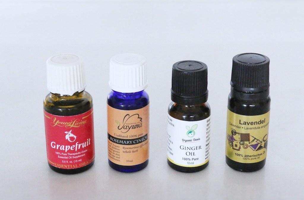 D I Y  Body Scrubs with Essential Oils