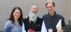 Kristin Scheel Mehtab Benton, Willy Collins, Brian Castellani at the first Texas Yoga Conference in 2010