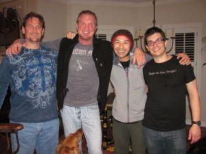 Explore Texas Yoga on Yoganomics® | WWF Dallas Page DYP, Ricky Tran, Brian Castellani, at the TexasYogaConference