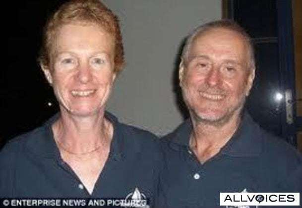 Kidnapped Brit couple kept fit by doing yoga