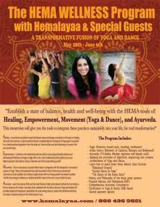 HEMA Wellness Program May 28th – June 6th