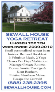 Sewall House Yoga Retreat Teen Teacher Training In Maine April 26 – May 18