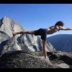 Karl Erb - Yoga Pose on a rock