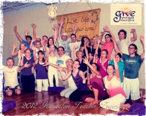 Ana Brett Kundalini Yoga, GiveYogaMemphis, - 2012 Yoga Teacher Training - Yoganomics