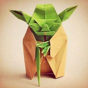 Yoda Origami Yoganomics Brian Castellani