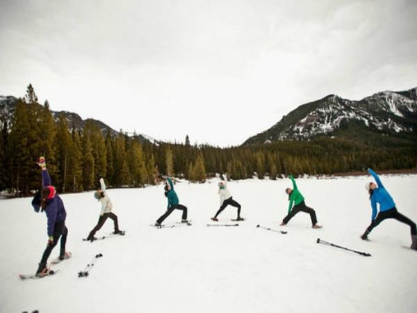 Frozen Yoga… It's Snowga Curiosity