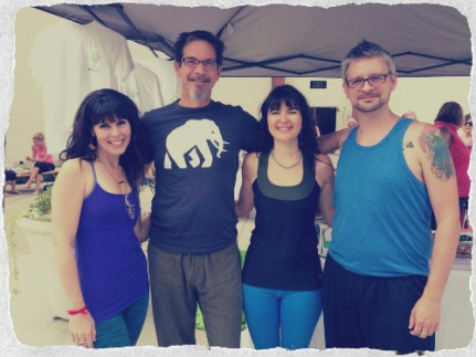 Michael Anderson Yoga Teacher at Newtown Yoga Festival | Yoganomics