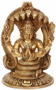 Représentation statue de Patanjali