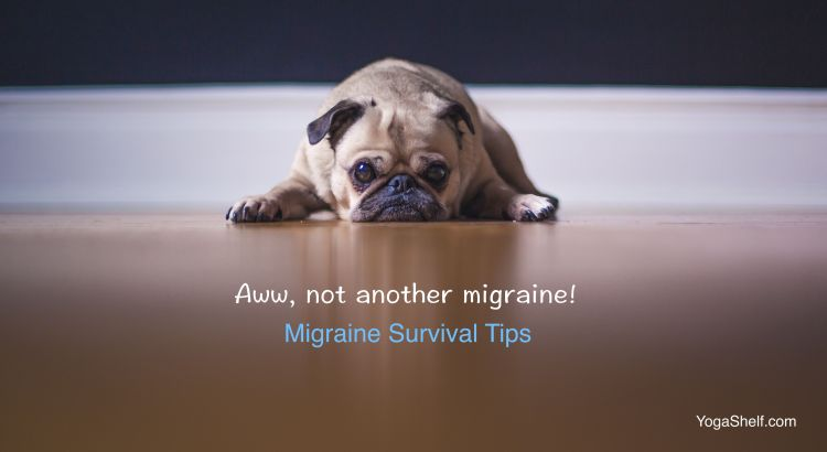 Migraines: YogaShelf Survival Tips