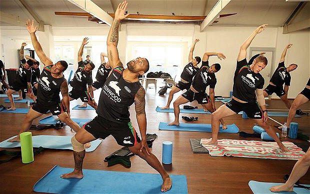 Ashtanga Yoga complements rugby training perfectly