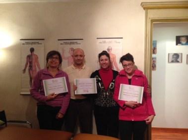2015 - Master  Reflessologia in Gravidanza