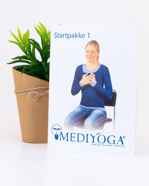 Startpakke nr 1 - Lær deg yoga