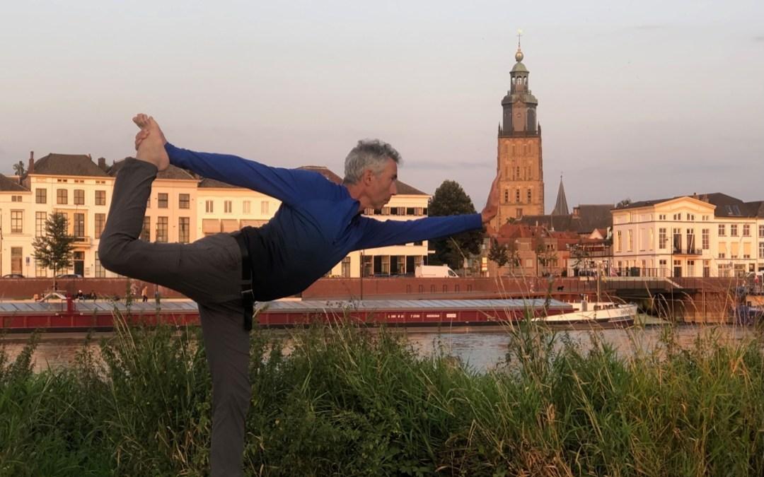 Nieuwe serie yoga voor mannen vanaf 1 september