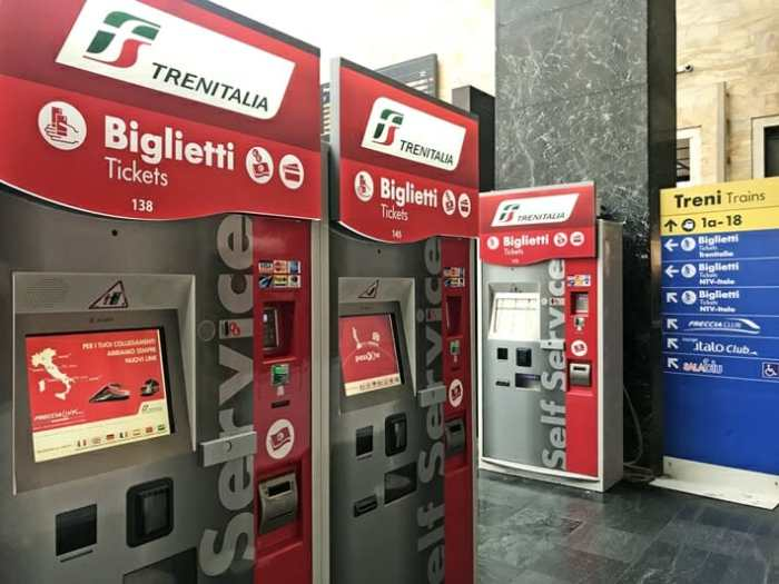Image result for Italy ticket machine