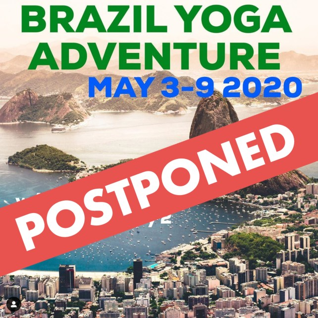 Brazil Yoga Adventure POSTPONED