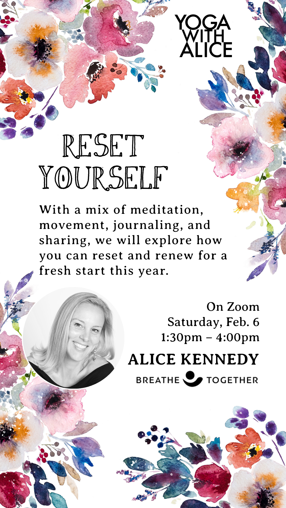 Reset Yourself: Sat February 6