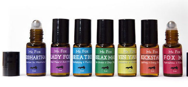 Mr Fox essential oils Rescue Kit