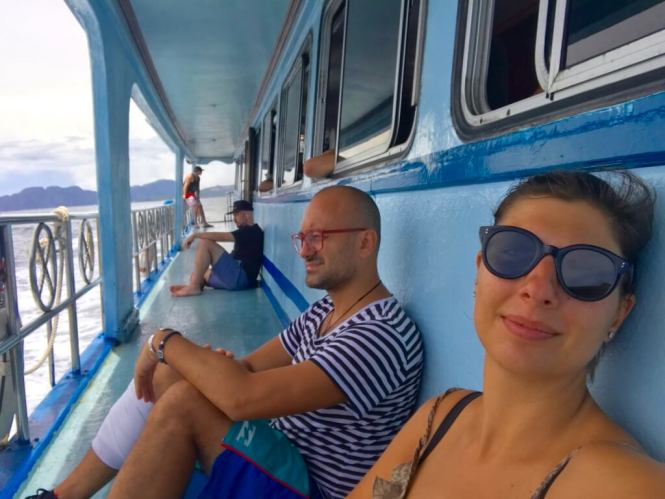 ferrying around the Thai islands