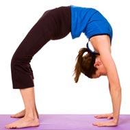 Wheel Pose: | Chakrasana Beneficial For Cardiovascular. Glandular And Nervous System Health