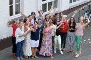 Sommerfest mit dem YogaYa-Team
