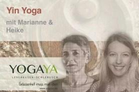 Yin Yoga mit Marianne