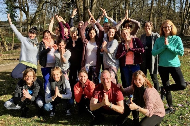 Mitte Februar 2019 haben 20 neue Teacher Trainees mit der Yoga-Ausbildung begonnen