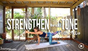 >Below are 10 yoga poses to help strengthen and tone your body, mind, and soul. I quickly touch on each one in a video below + how to incorporate these into your practice.