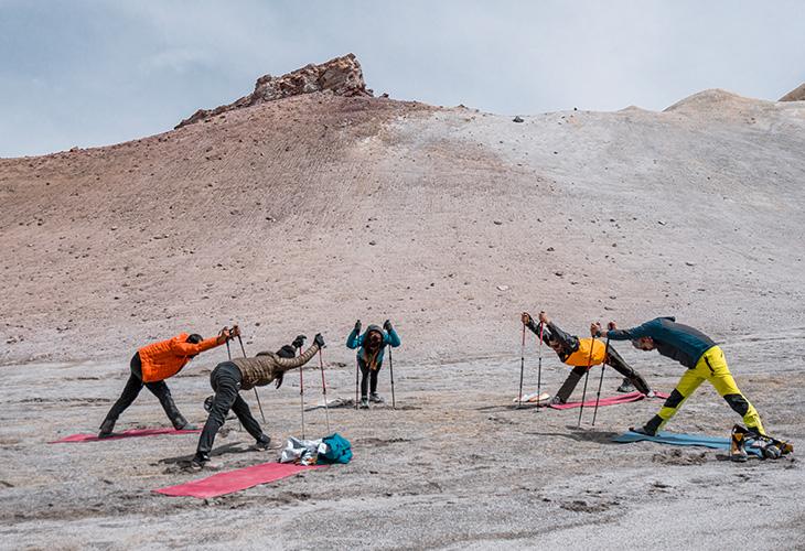 Yoga Chachani Mountain 8