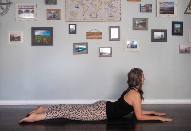sphinx pose Yoga Backbends