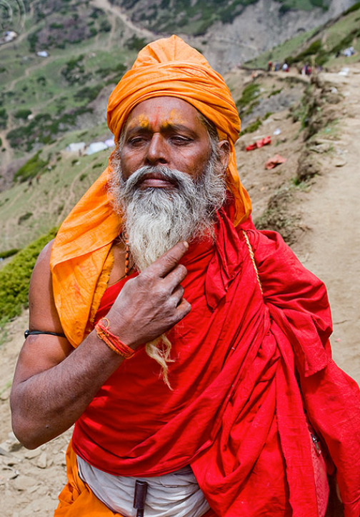Truly high calabre Sadhus attend the Amarnath Yatra