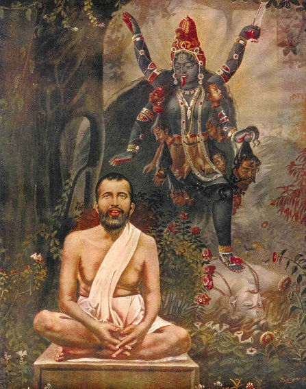 Maha Kali led Sri Ramakrishna to her through Yoga Marg