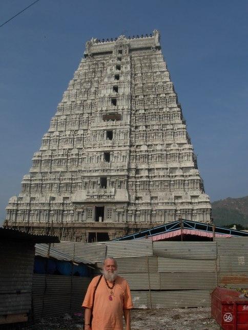 Swami Ayyappa Giri the the Tiruvanamalai Fire Shiva Temple