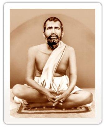 Ramakrishna Paramahamsa achieved elevated states through Mantra Yoga