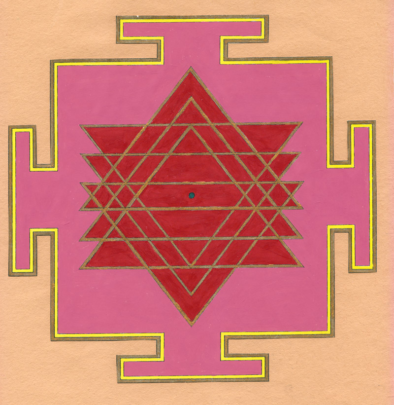 Yantra - Harnessing the Power of Mystical Geometry - Yogini