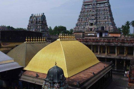 Chidambaram Space Element Shiva Temple