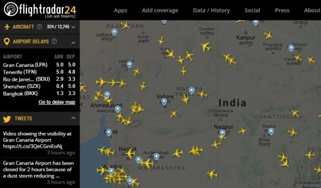 Most amazing website: flightradar24